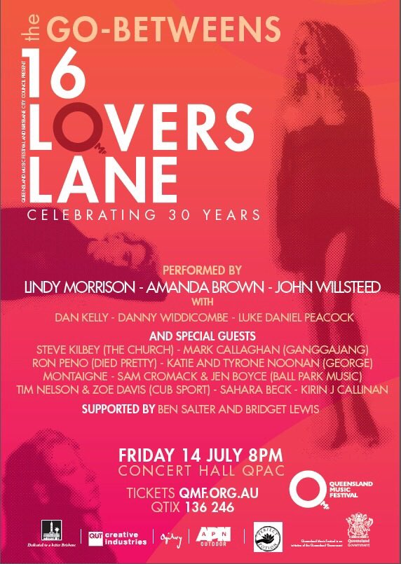 16 Lovers Lane concert poster