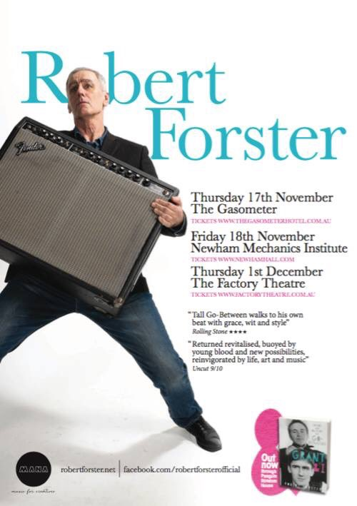 Robert Forster 'Songs To Play' album cover